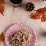 Tagliatelle di castagne con noci, salsiccia e panna