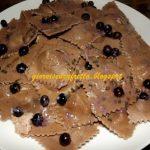 Ravioli con farina di castagne