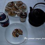 Intrecci di pan brioche alla nutella e un tè da Micol