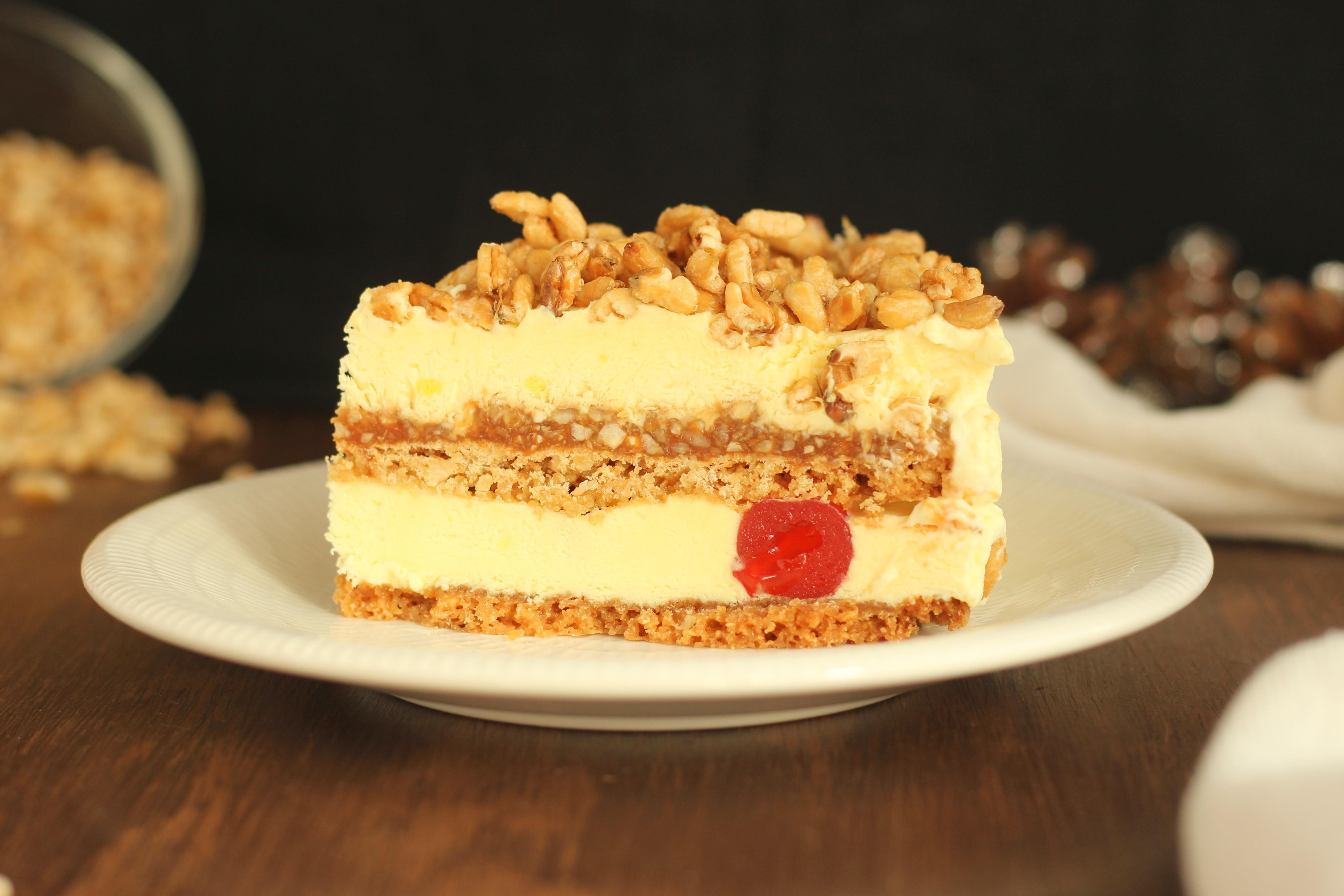 torta al kamut caramellato luca montersino