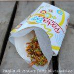 Paglia di verdure fritte al rosmarino