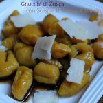 Gnocchi di zucca con scaglie di Grana & balsamico