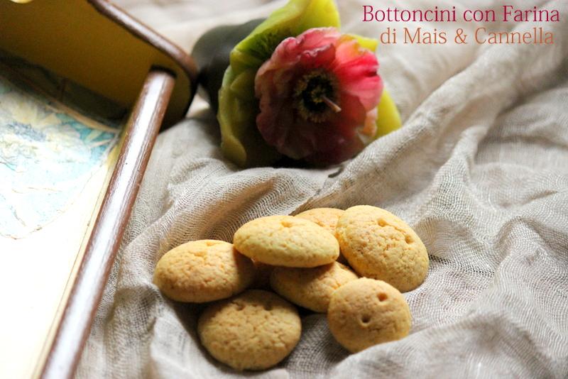 biscotti con farina di mais e cannella