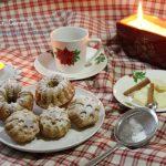 Muffin al cioccolato bianco e cannella