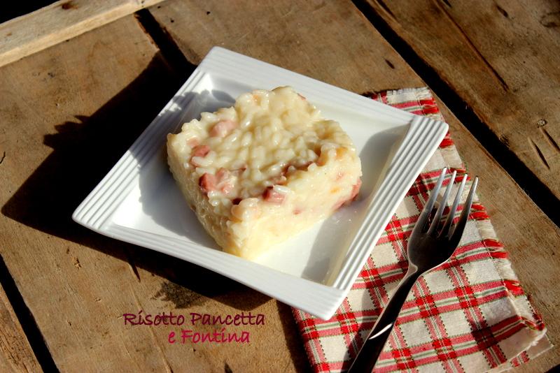 risotto pancetta e fontina