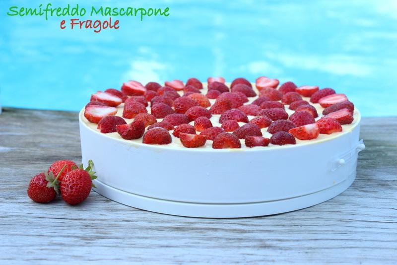 semifreddo mascarpone e fragole