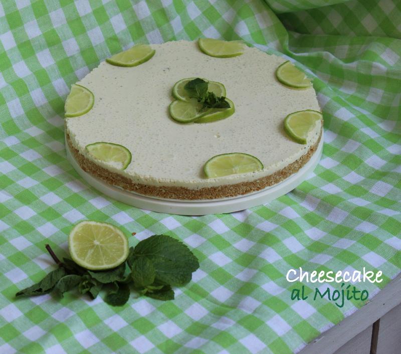 cheesecake al Mojito