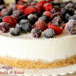 Torta gelato al mojito e frutti di bosco