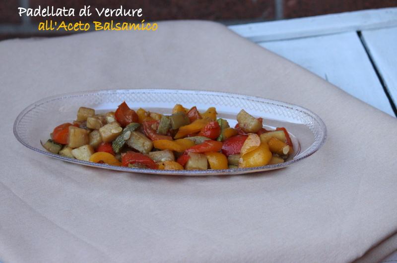 verdure miste con aceto balsamico