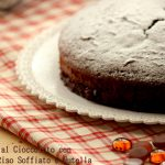 Torta al cioccolato con base di riso soffiato e Nutella