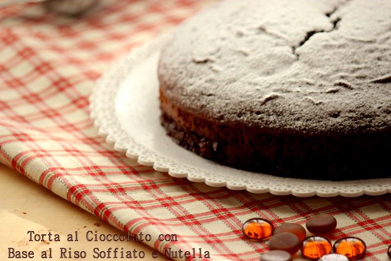 torta al cioccolato e riso soffiato
