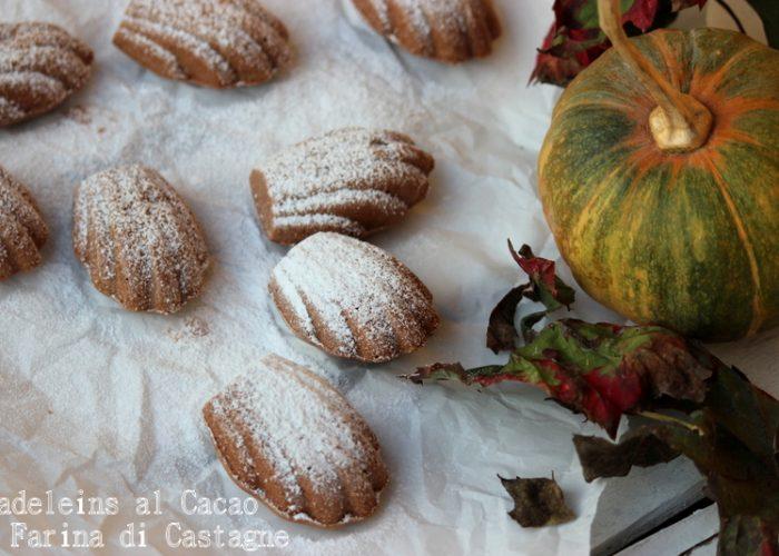 madeline al cacao e farina di castagne