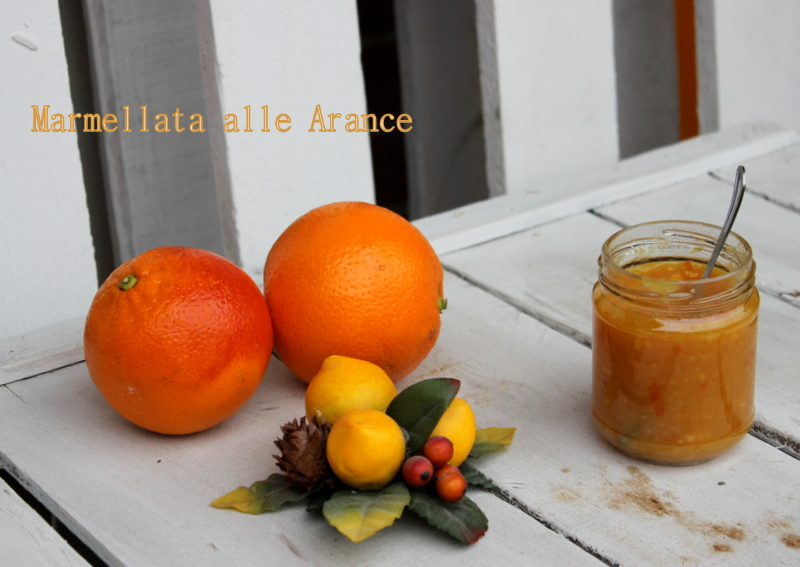 marmellata alle arance