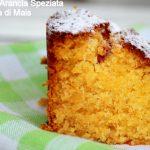 Cake agli agrumi speziati e farina di mais