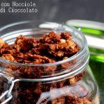 Granola home made con nocciole e cioccolato