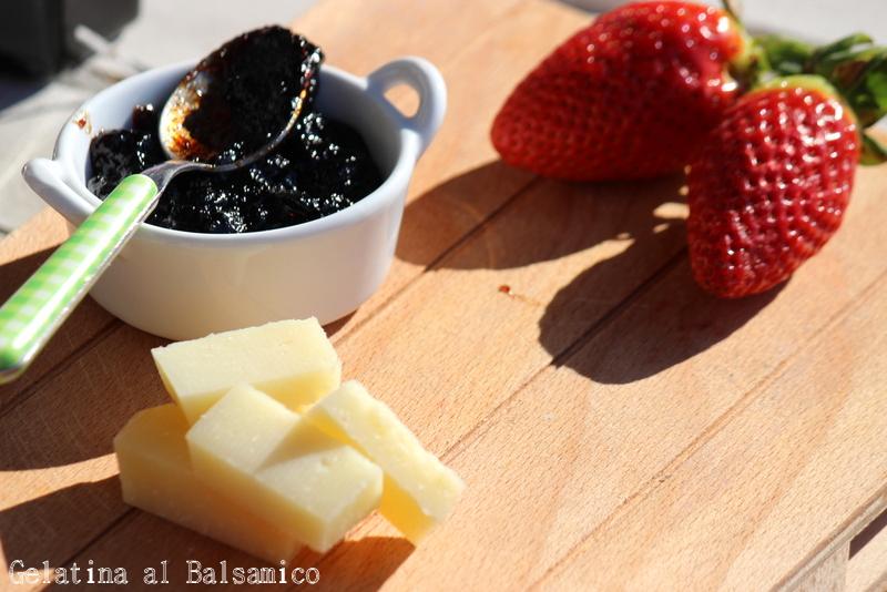 gelatina al balsamico