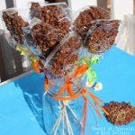 Ovetti di cioccolato e riso soffiato
