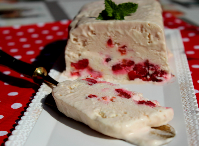 semifreddo all'amarena