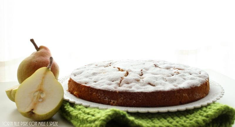 torta alle pere e spezie