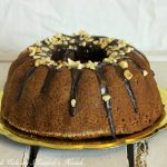 Chocolate bundt cake con farina di mandorle e nocciole