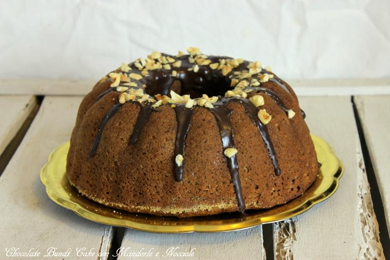bundt cake cioccolato e nocciole