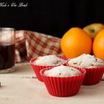 Muffin alle mele e vin brùlè