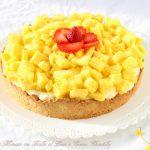 Crostata finta mimosa
