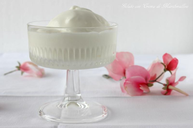 gelato con marshmallow