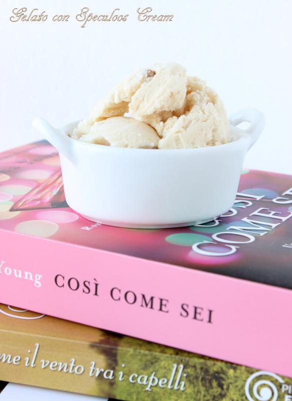 gelato alla speculoos cream