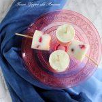 Frozen yogurt con amarene
