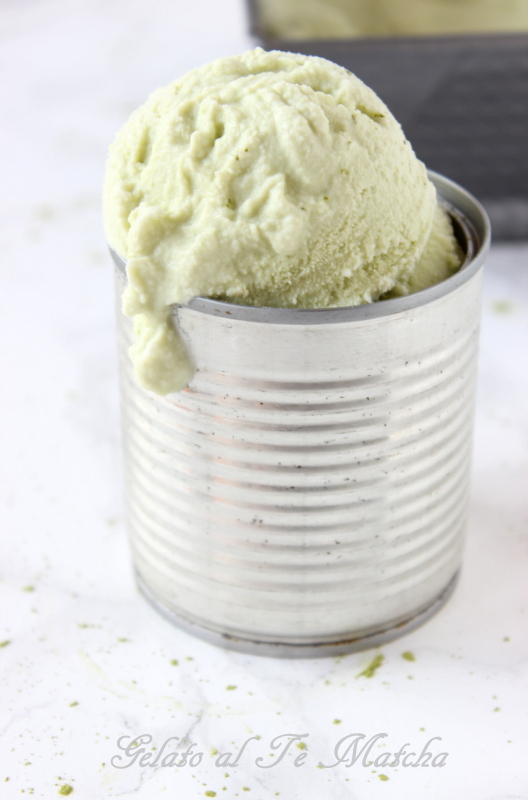 gelato al tè matcha