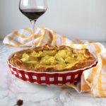 Torta salata con salsiccia patate e Gorgonzola