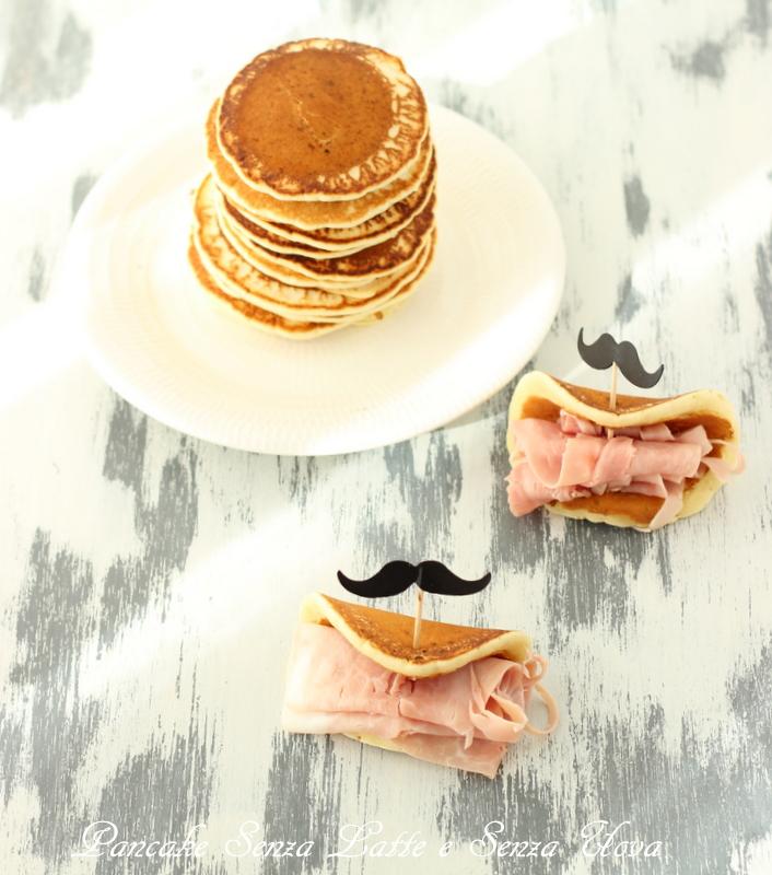 pancake senza latte e senza uova