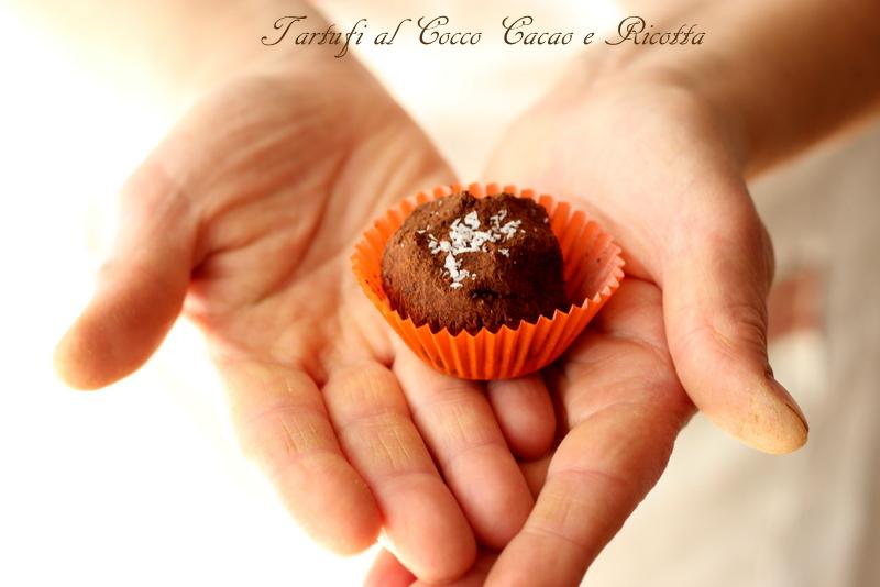 tartufini al cocco e cacao