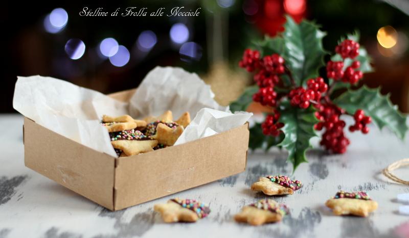 biscotti alla nocciola e cioccolato
