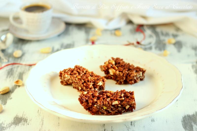 barrette cereali e frutta secca