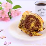 Ciambellone al cacao e Golden Milk