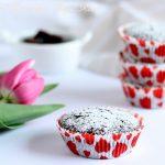 Muffin al cioccolato e rapa rossa