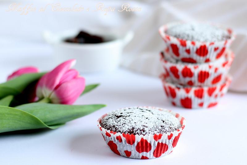 muffin cioccolato e rapa rossa