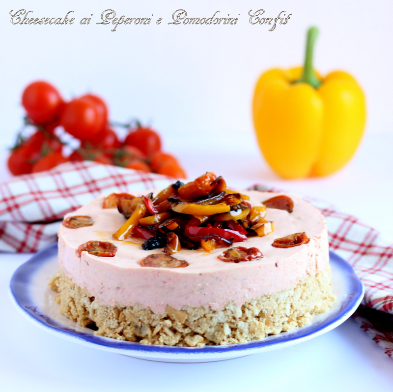 cheesecake con peperoni