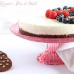 Cheesecake con yogurt greco e Pan di Stelle