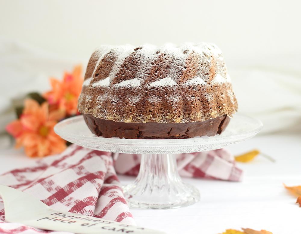 ricetta bundt cake al cioccolato