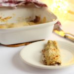 Cannelloni di crespelle con radicchio speck salsiccia e fontina