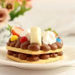 Cream tart con crema Namelaka al cioccolato