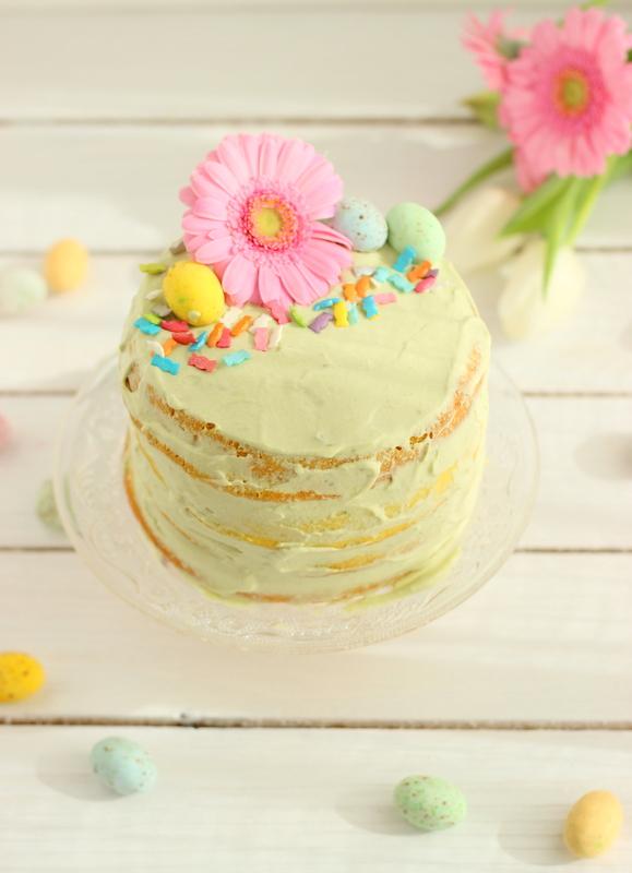 naked cake per pasqua