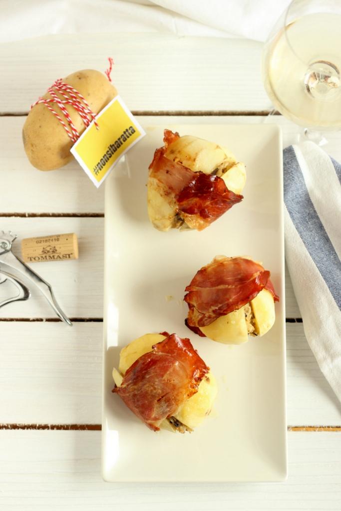 patate ripiene con carciofi