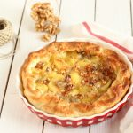 Torta salata noci gorgonzola e patate