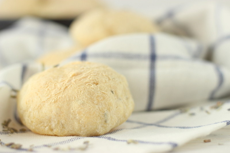 ricetta panini alla lavanda