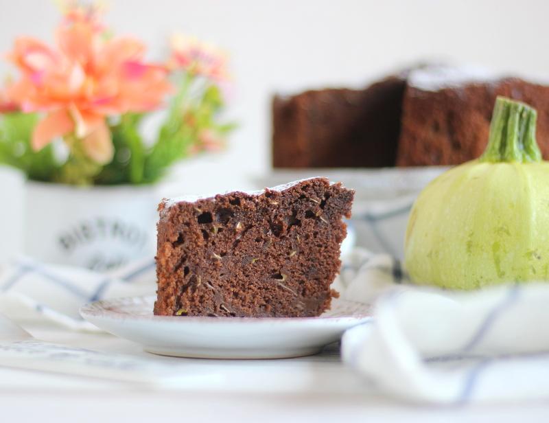 torta cacao e zucchine