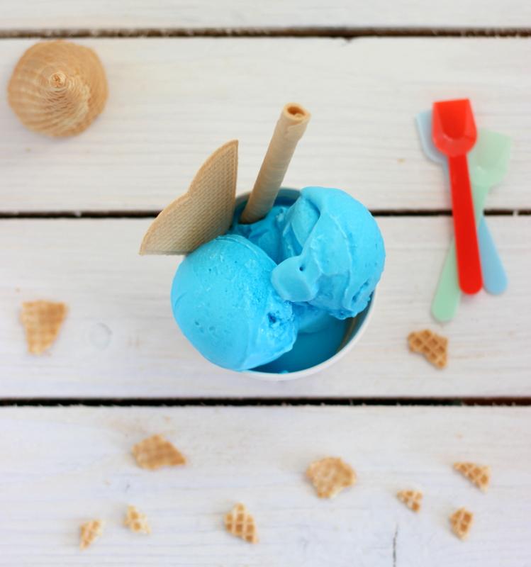 ricetta facile gelato al puffo